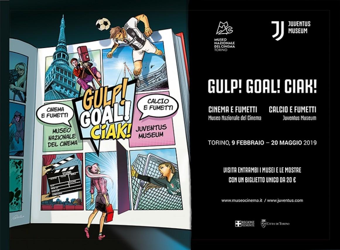Gulp! Goal! Ciak Cinema e Fumetti / Calcio e Fumetti