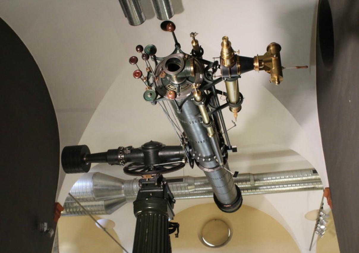 IL TELESCOPIO MERZ-REPSOLD DI SCHIAPARELLI AL MUSEO - Un progetto di restauro e valorizzazione