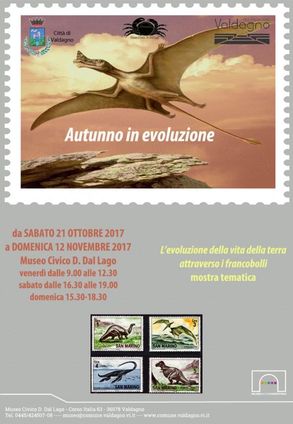 L'evoluzione della vita della Terra attraverso i francobolli