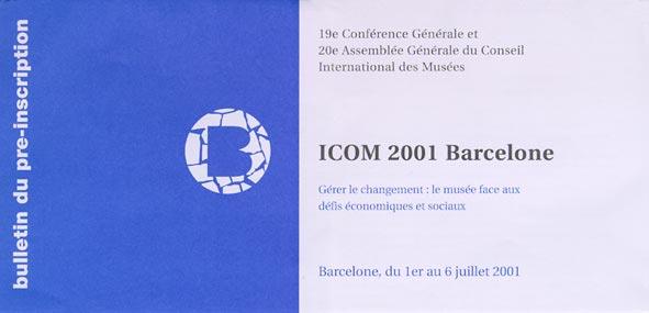 ICOM 2001 - BARCELLONA