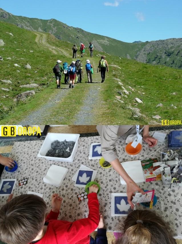 Escursione Natura ed i Pollicini Verdi per il VASLaB con il Giardino Botanico di Oropa e Aperta nei giorni festivi la Biblioteca nella Natura