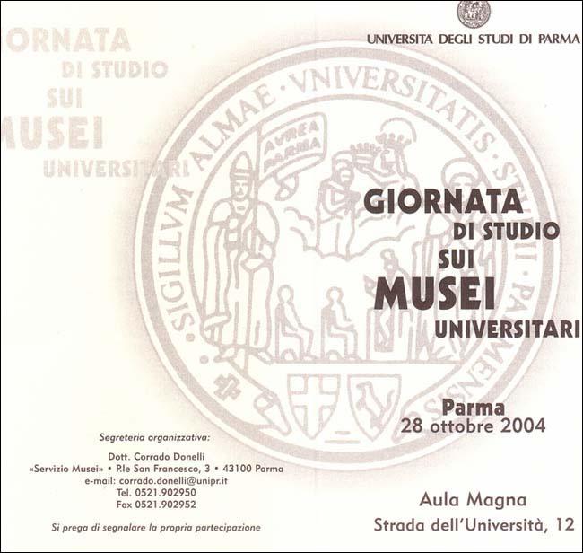 Giornata di studio sui Musei Universitari