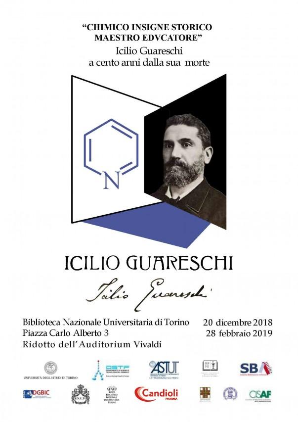 """""""CHIMICO INSIGNE STORICO MAESTRO EDVCATORE"""" Icilio Guareschi a cento anni dalla sua morte"""