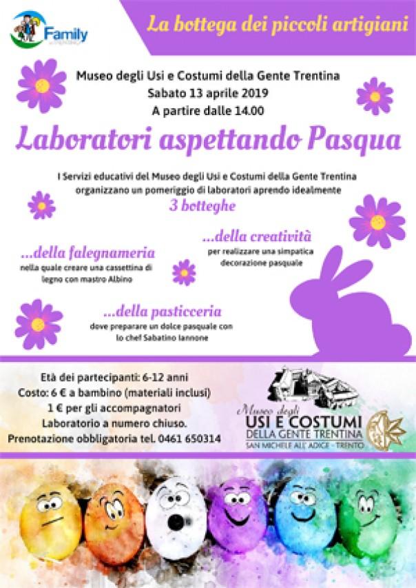 Laboratori per bambini e famiglie per festeggiare la Pasqua al Museo