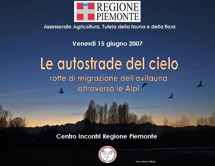 Le autostrade del cielo: rotte di migrazione dell'avifauna attraverso le Alpi