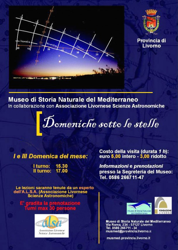 Domeniche al Planetario