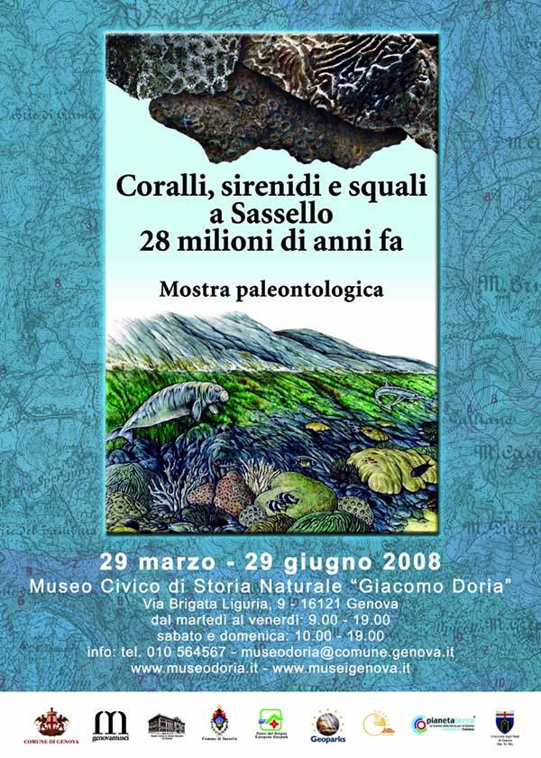 Coralli, sirenidi e squali a Sassello 28 milioni di anni fa