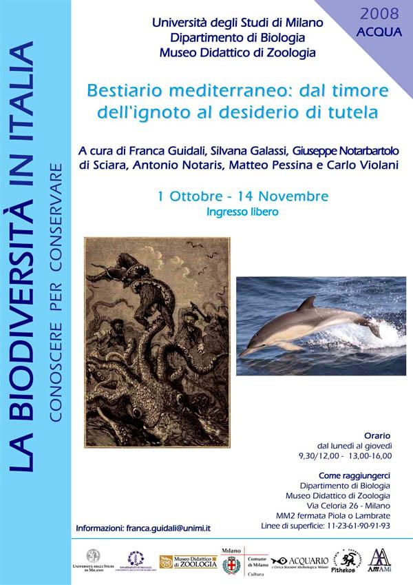 Bestiario mediterraneo: dal timore dell'ignoto al desiderio di tutela