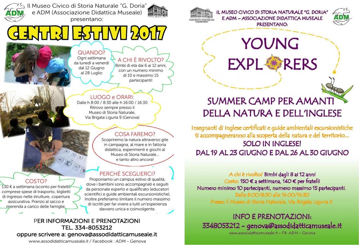 Centri ESTIVI E SUMMER CAMP 2017