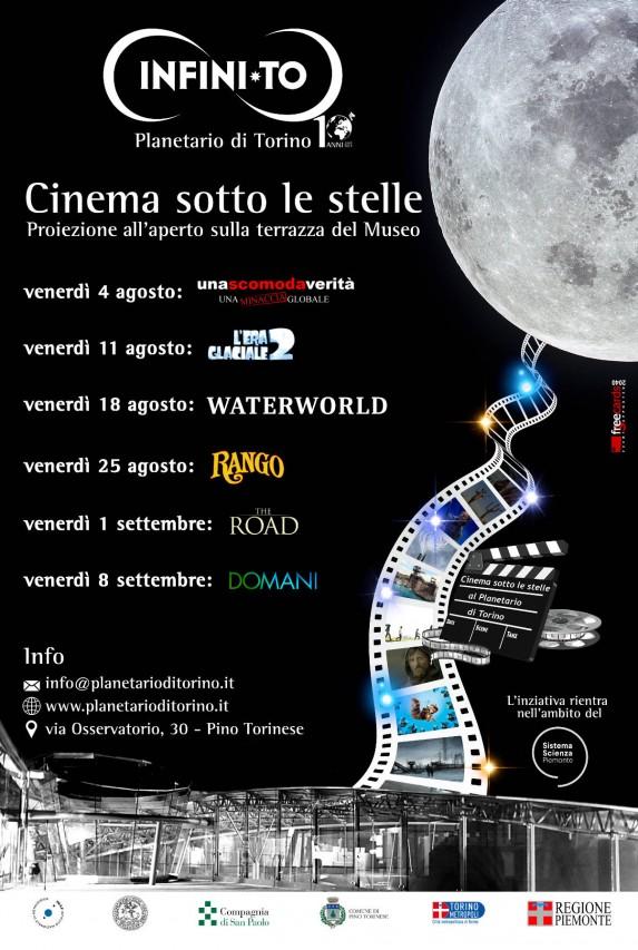 CINEMA SOTTO LE STELLE - Proiezione di film all'aperto sulla terrazza del Museo