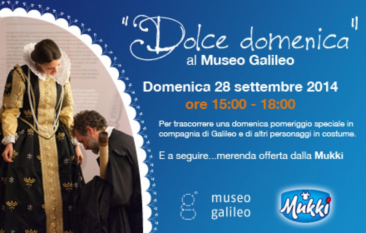 Dolce domenica al Museo Galileo