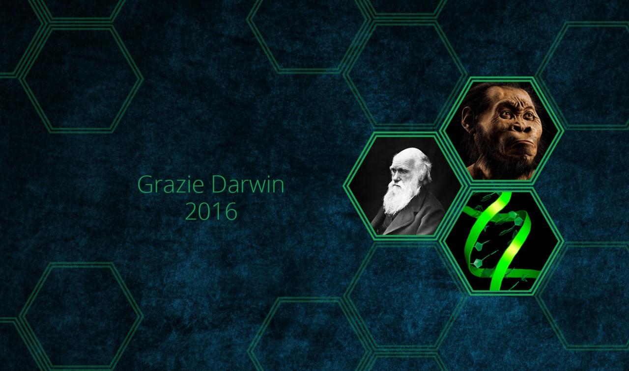 Grazie Darwin 2016