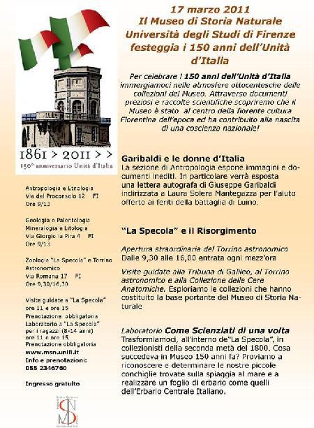 17 marzo 2011-Garibaldi e le Donne d'Italia