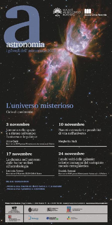 I giovedì dell'Astronomia