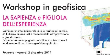 Workshop in Geofisica (2011)
