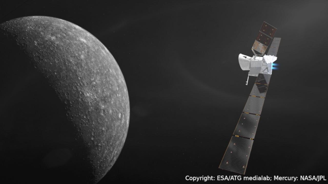 La missione Bepi Colombo verso Mercurio