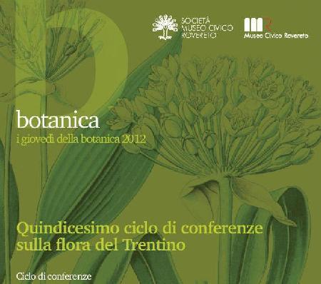 I giovedì della Botanica 2012