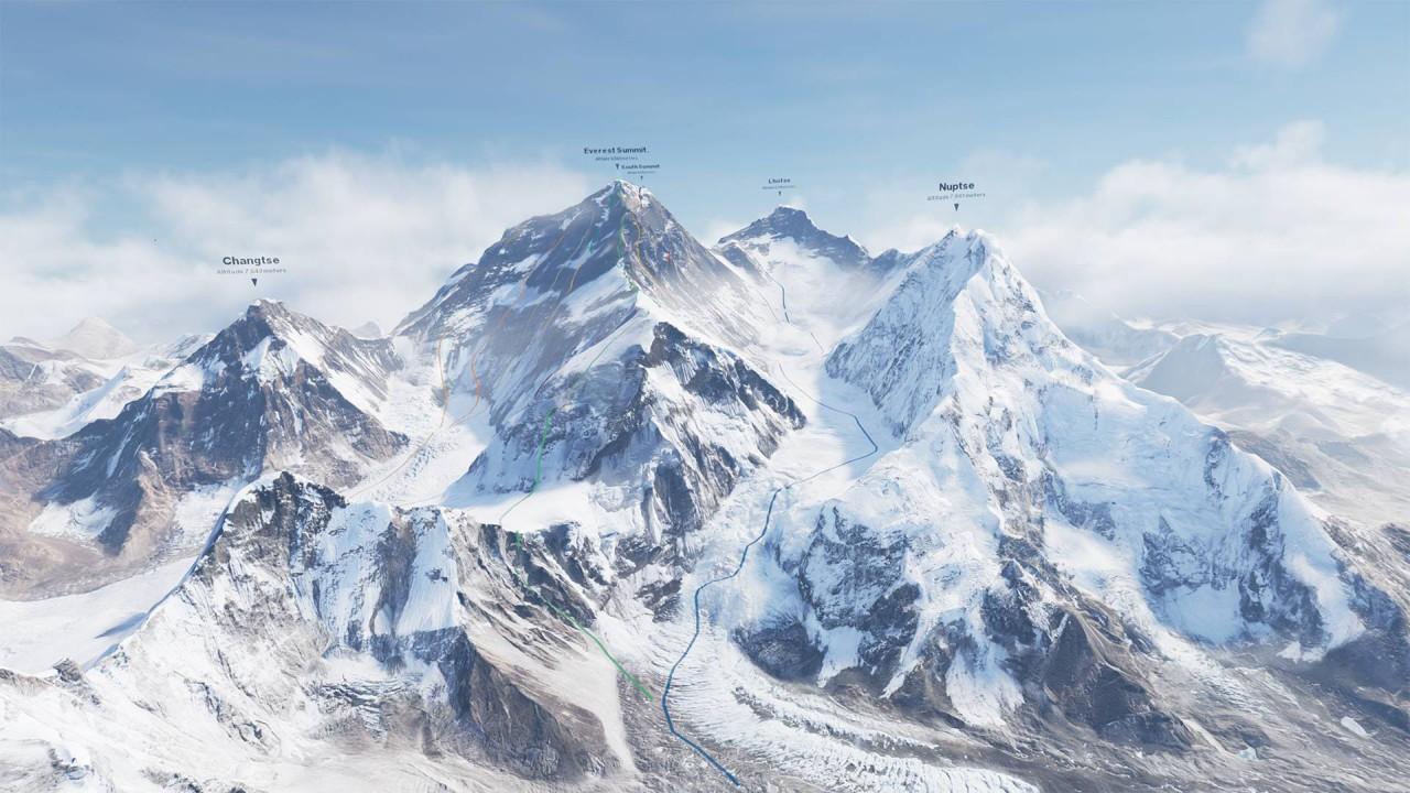 Everest VR, nuova attività di realtà virtuale