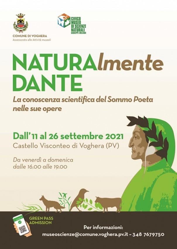 700esimo anniversario morte di Dante. MOSTRA NATURALmente DANTE