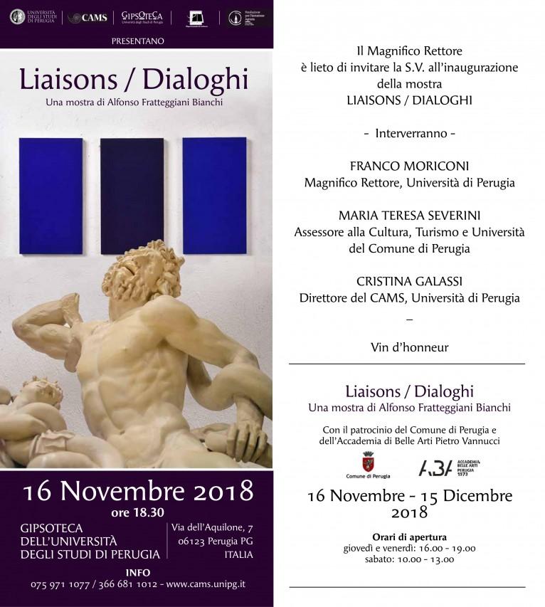 Liaisons / Dialoghi. Una mostra di Alfonso Frattegiani Bianchi