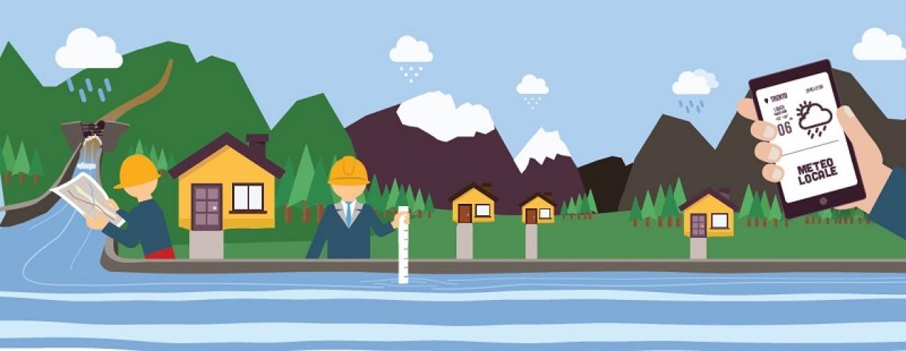 La natura in movimento. Difendiamoci dalle alluvioni