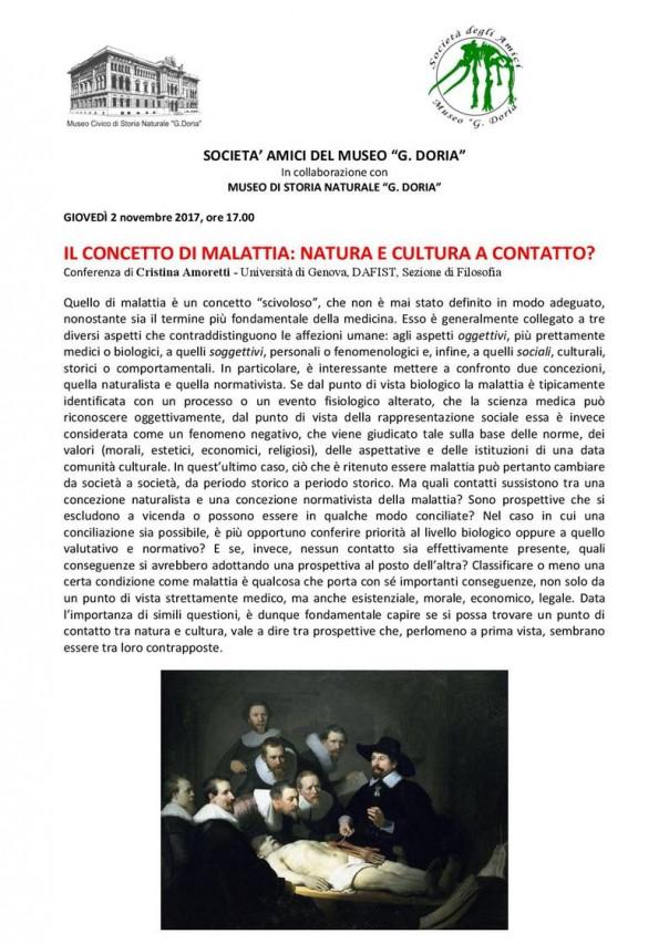 IL CONCETTO DI MALATTIA: NATURA E CULTURA A CONTATTO?