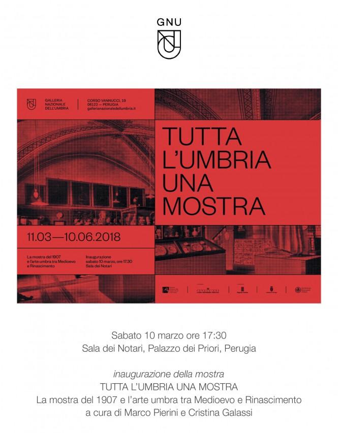 Tutta l'Umbria una mostra. La mostra del 1907 e l'arte umbra tra Medioevo e Rinascimento