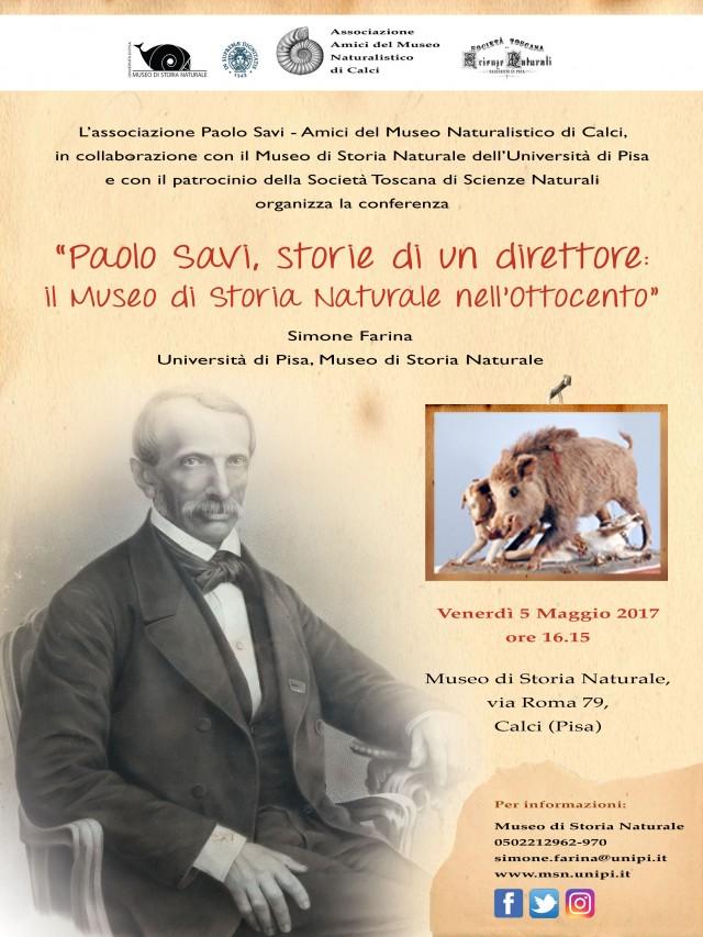 Paolo Savi, storie di un direttore: Il Museo di Storia Naturale nell'Ottocento
