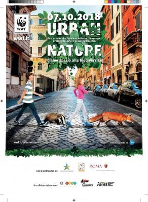 URBAN NATURE 2018 - L'ANMS COL WWF PER DARE SPAZIO ALLA BIODIVERSITÀ IN CITTÀ