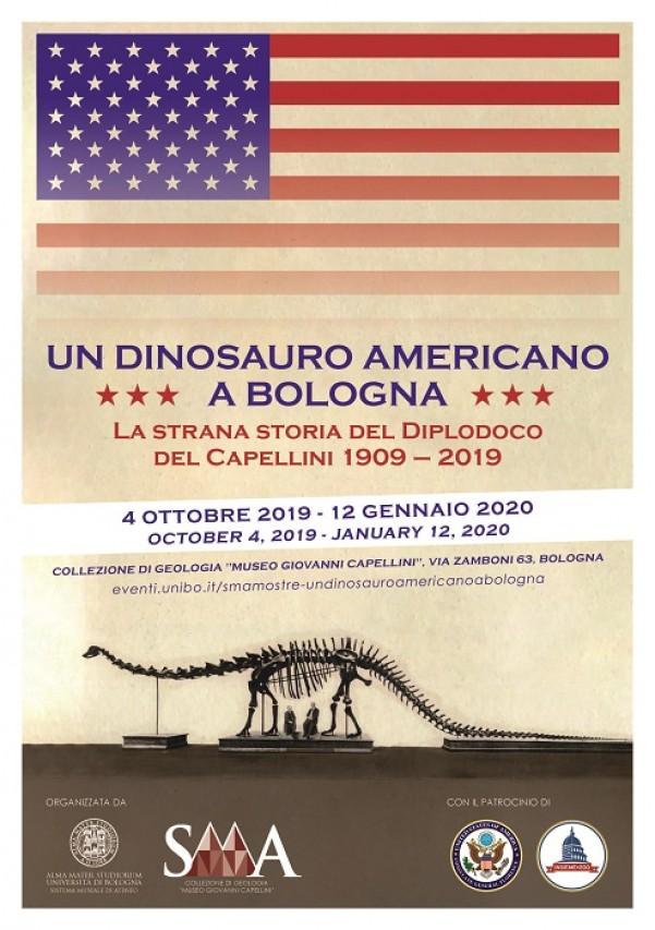 Un dinosauro americano a Bologna. La strana storia del Diplodoco del Capellini 1909 – 2019