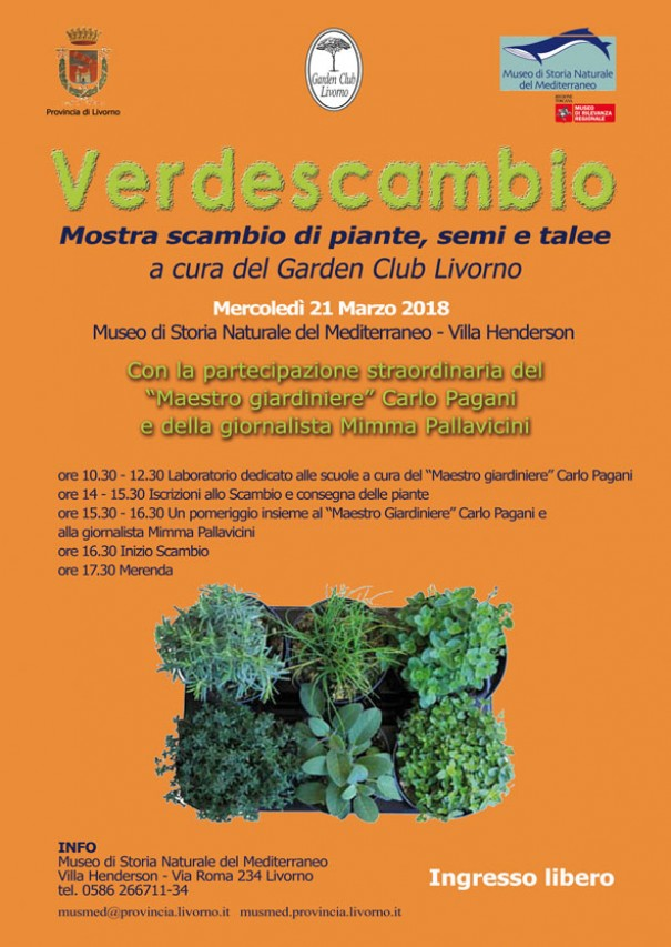 VERDESCAMBIO Mostra scambio di piante, semi e talee