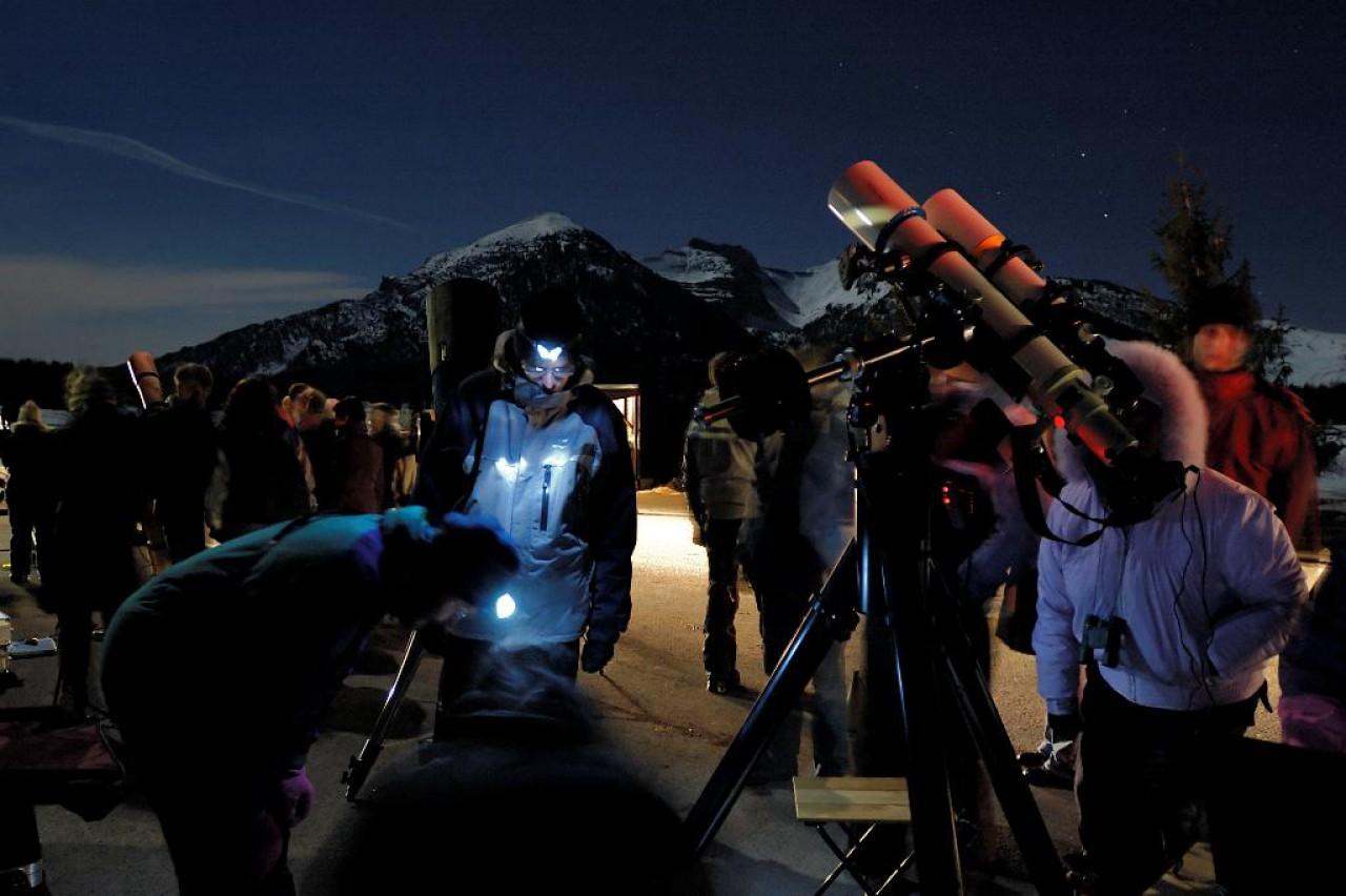 A TAVOLA CON L'UNIVERSO  e speciali weekend astronomici sul Monte Bondone