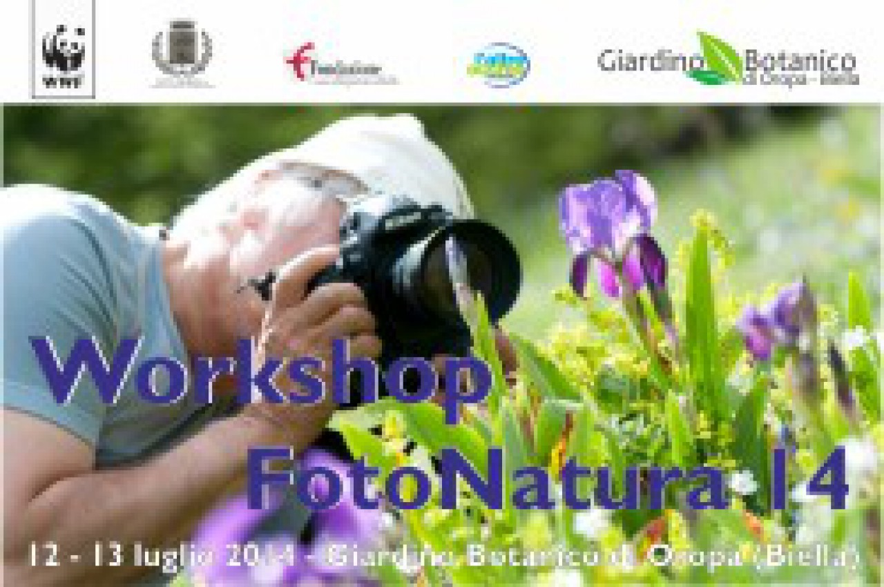 Workshop FotoNatura 2014