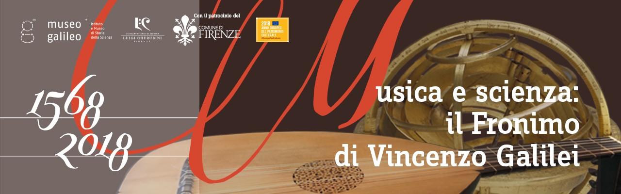 Musica e Scienza: il Fronimo di Vincenzo Galilei, 1568-2018