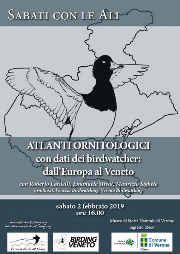 Sabati con le Ali - Atlanti ornitologici con dati dei birdwatcher: dall'Europa al Veneto