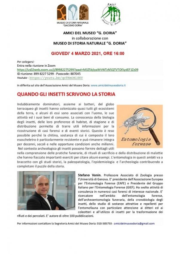 Conferenza online a cura degli Amici del Museo Doria