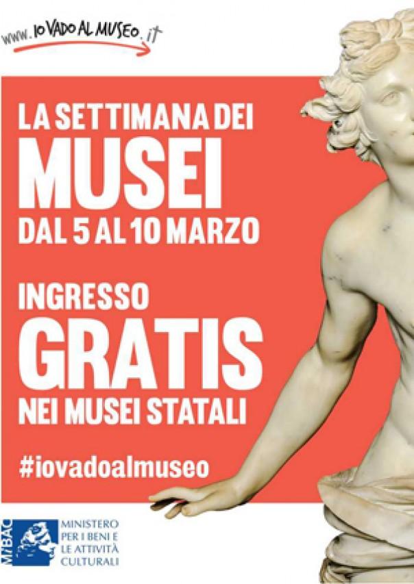 Dal 5 al 10 marzo ingresso gratuito al Museo di San Michele