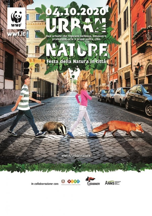 WWF URBAN NATURE 2020 con ANMS