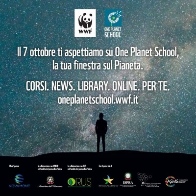 WWF - Lancio One Planet School
