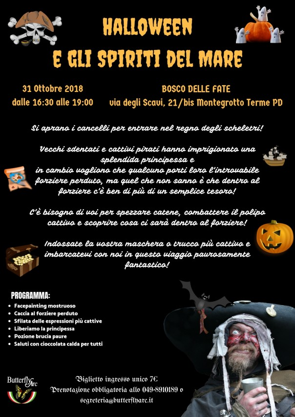 Halloween e gli Spiriti del Mare