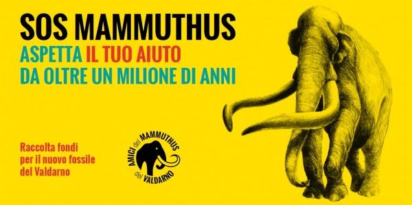 SOS MAMMUTHUS. ASPETTA IL TUO AIUTO DA OLTRE UN MILIONE DI ANNI.