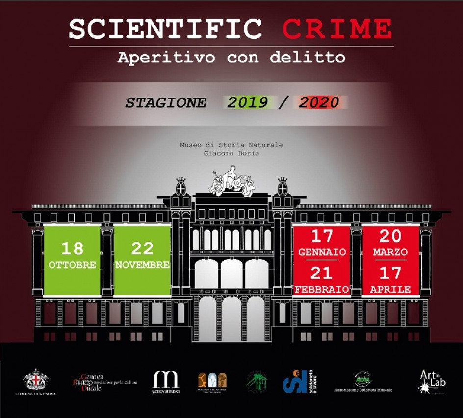 Scientific Crime: aperitivo con delitto!