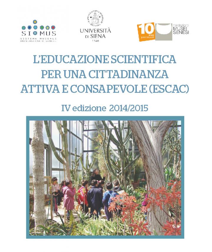 L'educazione Scientifica per una Cittadinanza attiva e Consapevole (ESCAC)