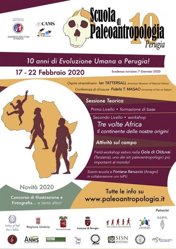 Scuola di Paleoantropologia 2020 - ISCRIZIONI APERTE!