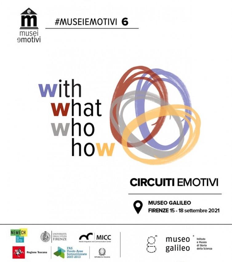 Iscrizioni MuseiEmotivi Online - Sesta Edizione, Museo Galileo Firenze