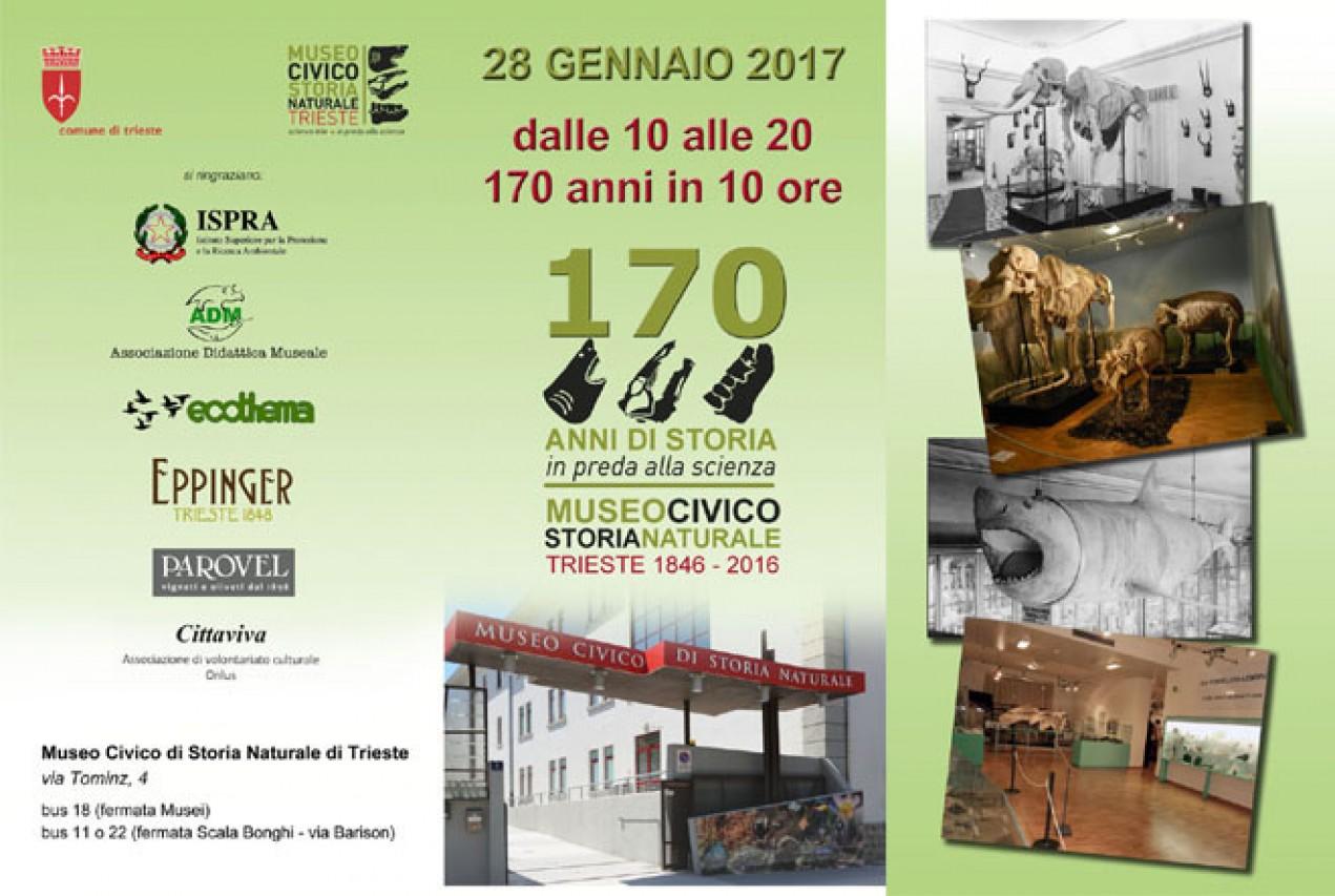 Museo di Storia Naturale di Trieste: 170 anni e non sentirli!