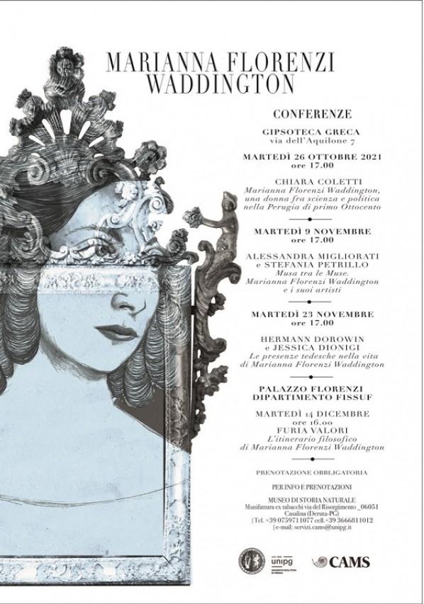 Ciclo di conferenze su Marianna Florenzi Waddington - Gipsoteca Greca dell'Università di Perugia