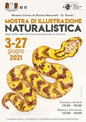 Mostra di illustrazione naturalistica in collaborazione con Comics