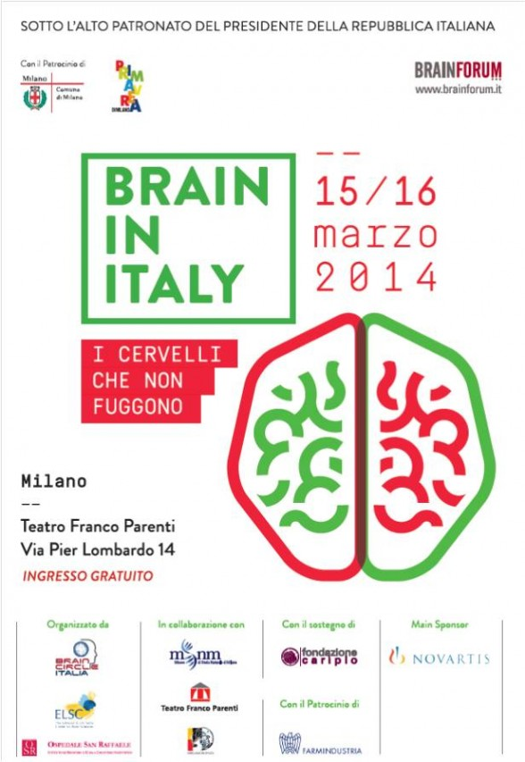 BRAIN IN ITALY - I cervelli che non fuggono