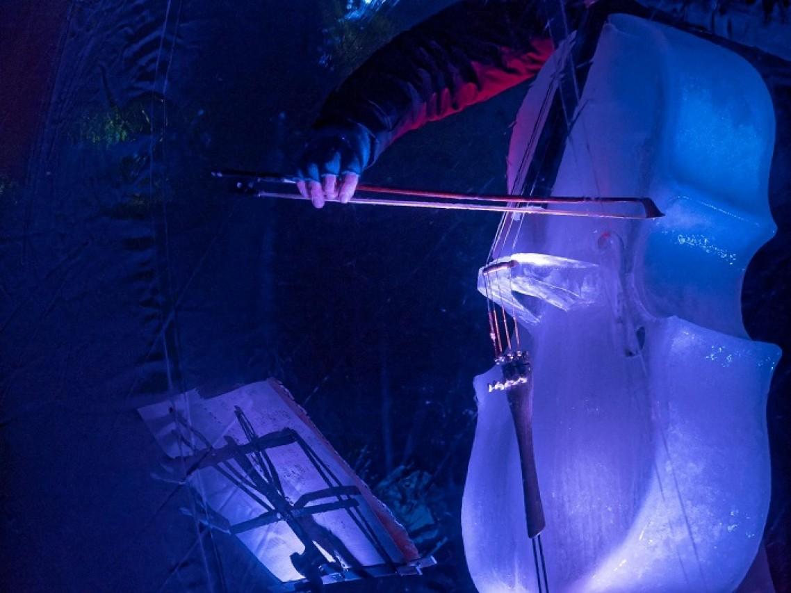 Finalmente nelle sale N-ICE CELLO. Storia del violoncello di ghiaccio